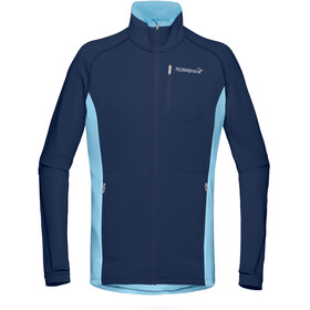 Norrøna W's Bitihorn Warm1 Stretch Jacket Trick Blue